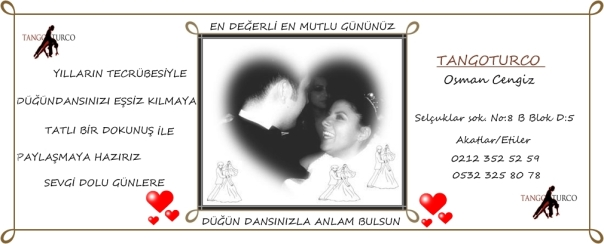 düğün dansı afişi